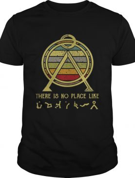 There Is No Place Like Terra Sunset Shirt