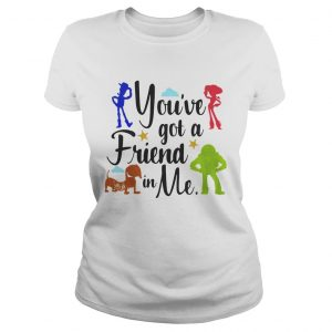 Toy Story youve got a friend in me Ladies Tee