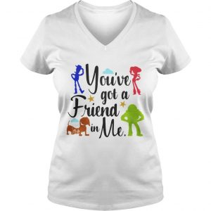 Toy Story youve got a friend in me Ladies Vneck