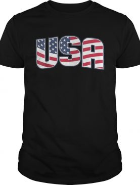 Usa American Flag 4th Of July Patriotic Shirt
