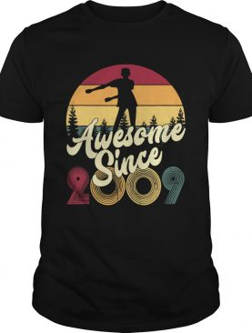 10th dabbing awesome since 2009 shirt