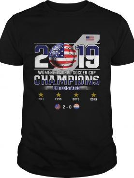 2019 Womens World Soccer Cup Champions United States shirt