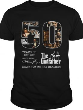 50 years of 1969 2019 The Godfather thank you for the memories shirt