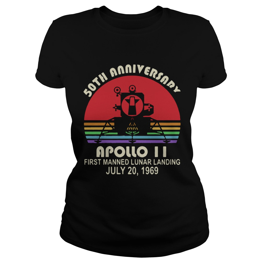 50th Anniversary apollo 11 first manned lunar landing July 201969 Classic Ladies