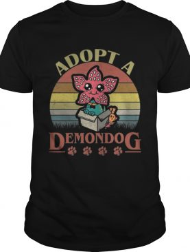 Adopt a Demodog vintage Stranger Things shirt