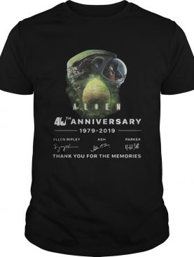 Alien abduction 40 anniversary thank you for the memories shirt