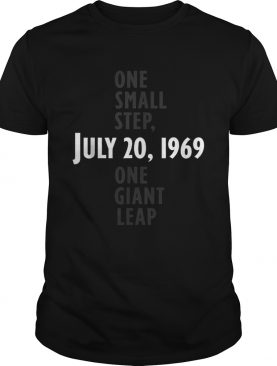 Apollo 11 50th One Small Step One Giant Leap shirt