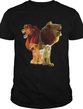 Baby Lion and Adult Lion The Lion King 2019 shirt