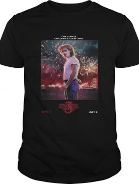 Billy Hargrove One Summer Can Change Everything Stranger Things shirt