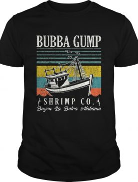 Bubba Gump Shrimp co Bayou La Batra Alabama vintage shirt