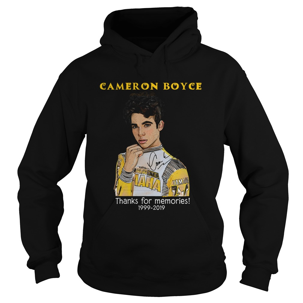 Cameron Boyce thanks for the memories Hoodie