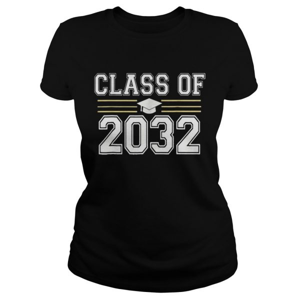 Class of 2032 Grow With Me First Day of School  Classic Ladies