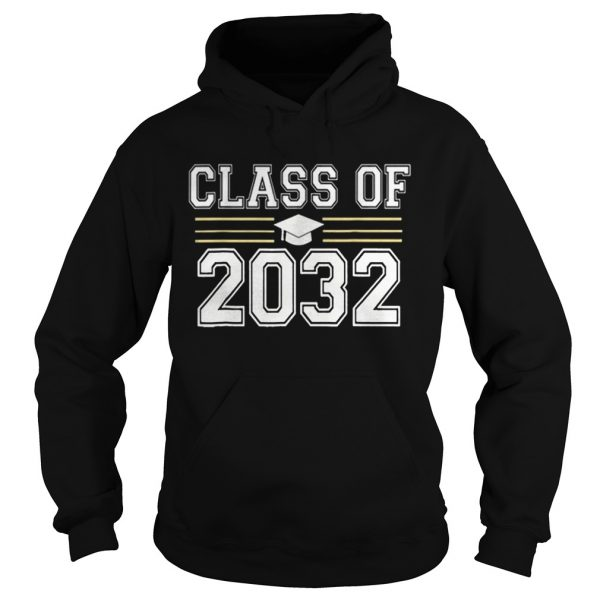 Class of 2032 Grow With Me First Day of School  Hoodie