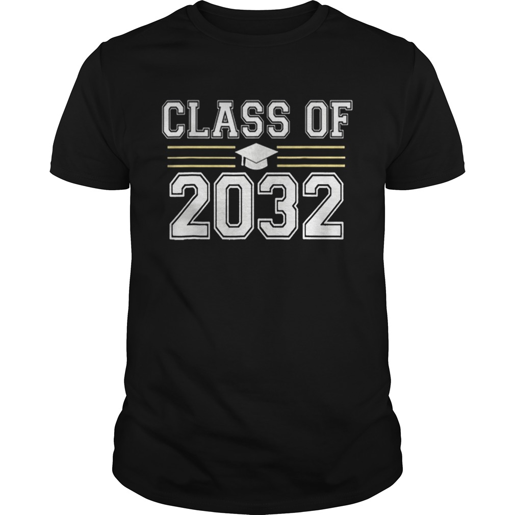 Class of 2032 Grow With Me First Day of School Unisex