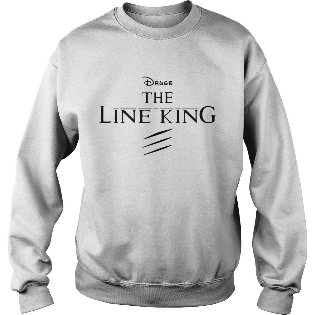 Disney the Lion King drugs the Line King Sweatshirt