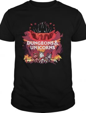 Dungeons and Unicorns shirt