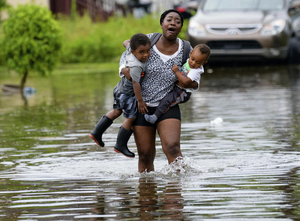 Flooding hits New Orleans as possible hurricane looms