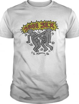Harry Styles Keith Haring Safe Sex Shirt
