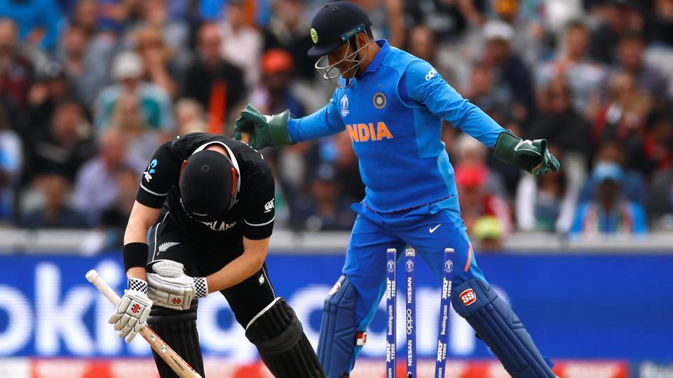 India v New Zealand semi-final to resume on Wednesday after rain delay