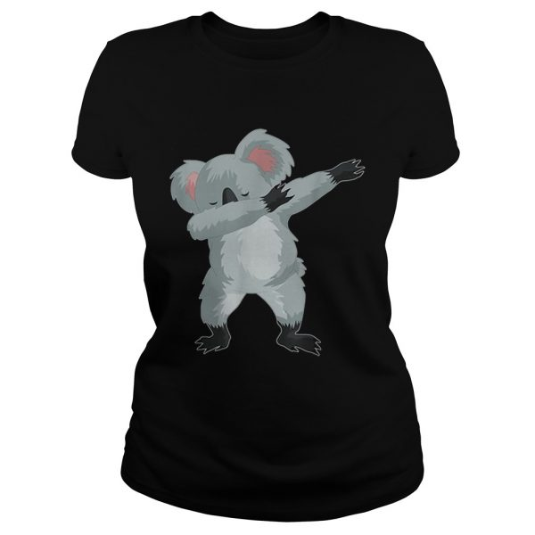Koala Cute Dabbing Dab Dance  Classic Ladies
