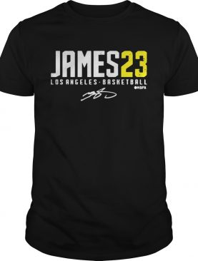 Lebron James LA 23 Signature shirt
