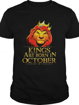 Lion King Are Born In October TShirt