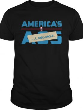 Marvel Americas Ass Language shirt