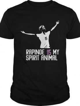 Megan Rapinoe 15 is my spirit animal shirt