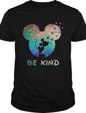 Mickey Mouse spread the love be kind shirt