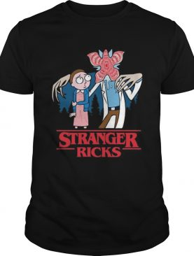Morty Smith Stranger Ricks Demogorgon shirt