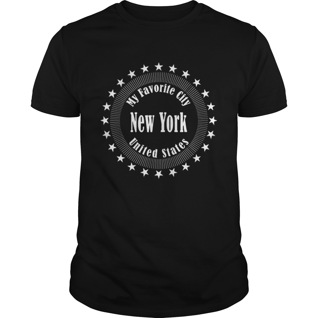 New York Is My Favorite City United States Of America Unisex
