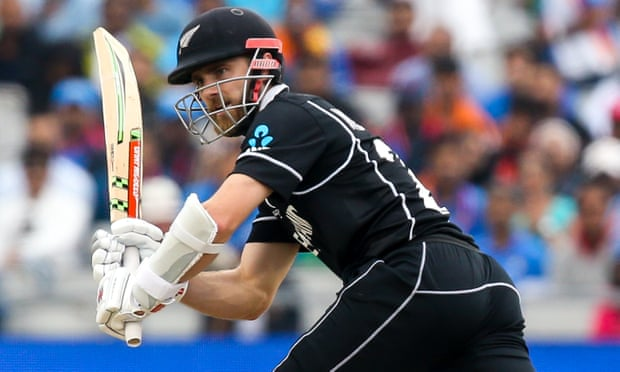 New Zealand captain Kane Williamson scored 67 before being caught by India's Ravindra Jadeja.