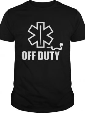 Off Duty Star of Life shirt