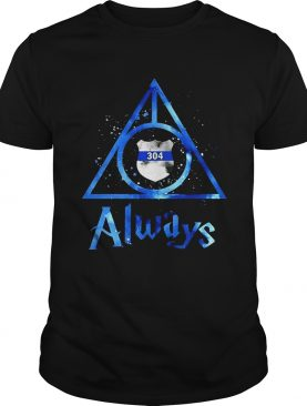 Police Badge Deathly Hallows Always Harry Potter shirt