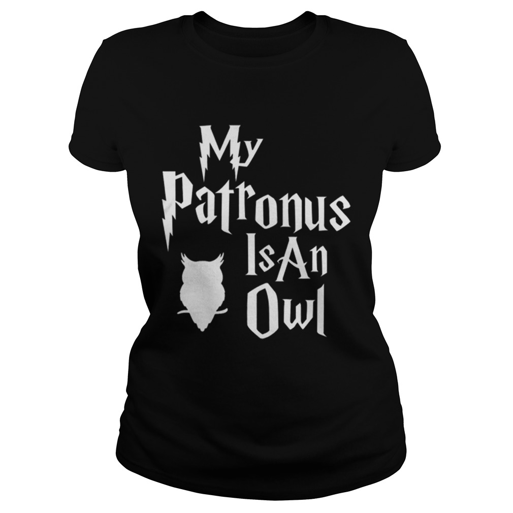 Pretty My Patronus Is An Owl Harry Potter Style Classic Ladies