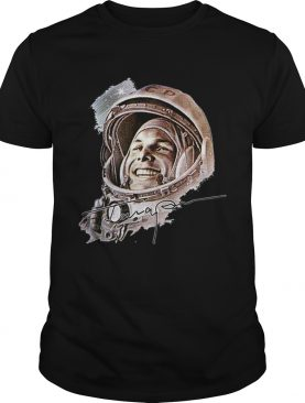 Pretty USSR Astronaut Yuri Gagarin The First Human To Journey Into Outer Space shirt