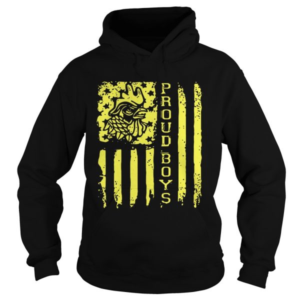 Proud Boys American flag Independence day  Hoodie