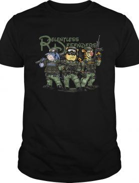 Relentless Defender Pooh and Eeyore shirt