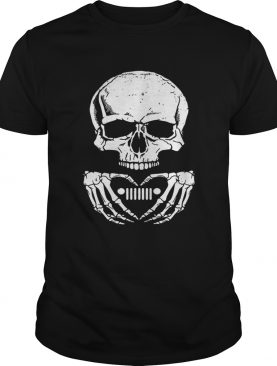 Skull love Jeep shirt