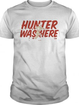 Tony Wolters Hunter was here shirt
