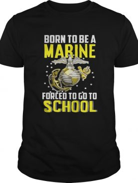 Top Born to be a Marine shirt