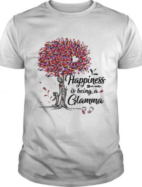 Tree happiness is being a Glamma shirt