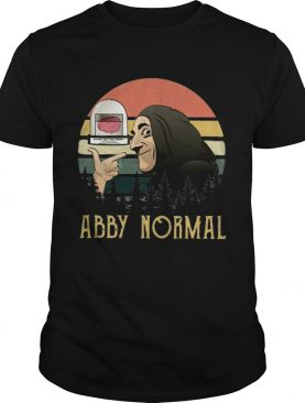 Young Frankenstein abby normal vintage sunset shirt