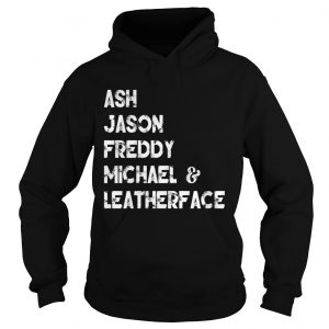 80s Horror Legends Ash Jason Freddy Michael Leatherface Hoodie