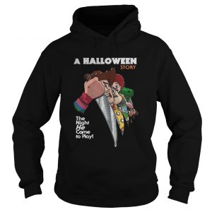 A Halloween story the night he come to play Hoodie