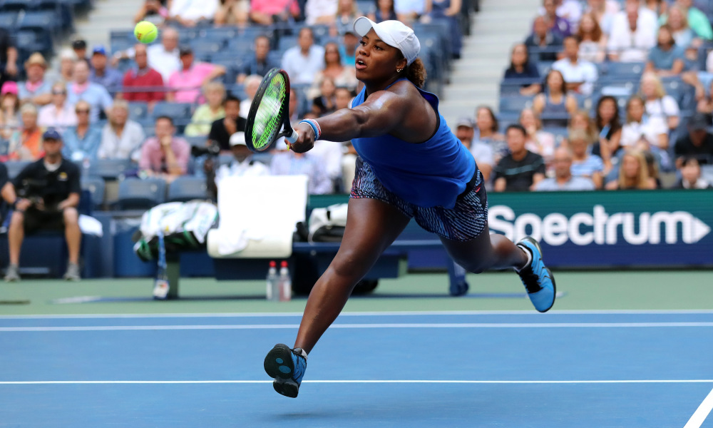 American Taylor Townsend upsets Simona Halep at U.S. Open