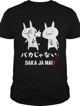 Anime Baka Ja Nai Rabbit slap shirt