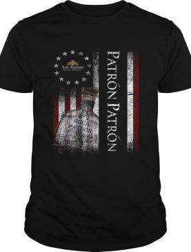 Betsy Ross flag The Patron shirt