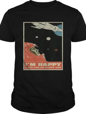 David Bowie Im happy hope youre happy too poster shirt