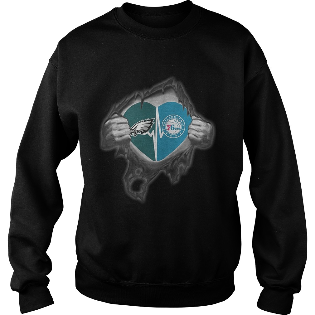 Eagles 76Ers Its in my heart inside me Sweatshirt